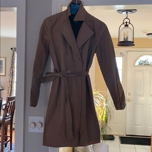 Banana republic belted trench